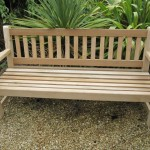 Bench hand crafted by Wincanton Joinery for Stourhead Gardens