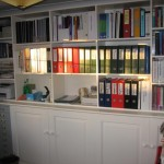 Extra storage space in home office