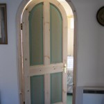 Arch top bedroom door
