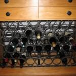 Bespoke wine storage cabinet