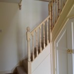 Revamped spindles and newel posts