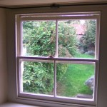 Replacement traditional box sash window