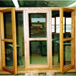 Bespoke oak window