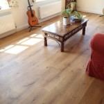 Solid English oak floor