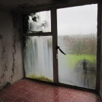 Water had run for years down the inside and outside of the kitchen window