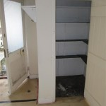 This stone built larder was in the corner of the lounge!