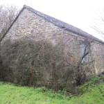 Once the garage, this outbuilidng had been sadly neglected