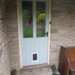 Bespoke back door
