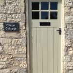 Bespoke painted softwood door