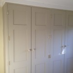 Painted MDF wardrobe