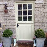 Painted softwood stable door