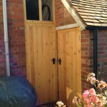 Softwood doors for outbuildings