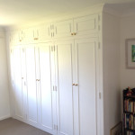 Large painted MDF wardrobe