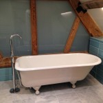 Bespoke barn conversion bathroom