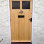 Bespoke softwood front door